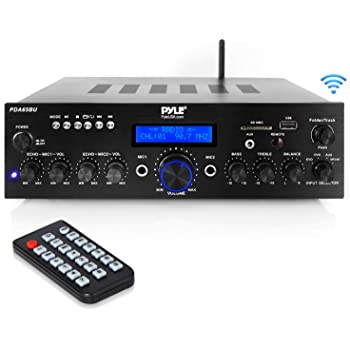 pyle pfa540bt bluetooth amplifier home theater receiver manual