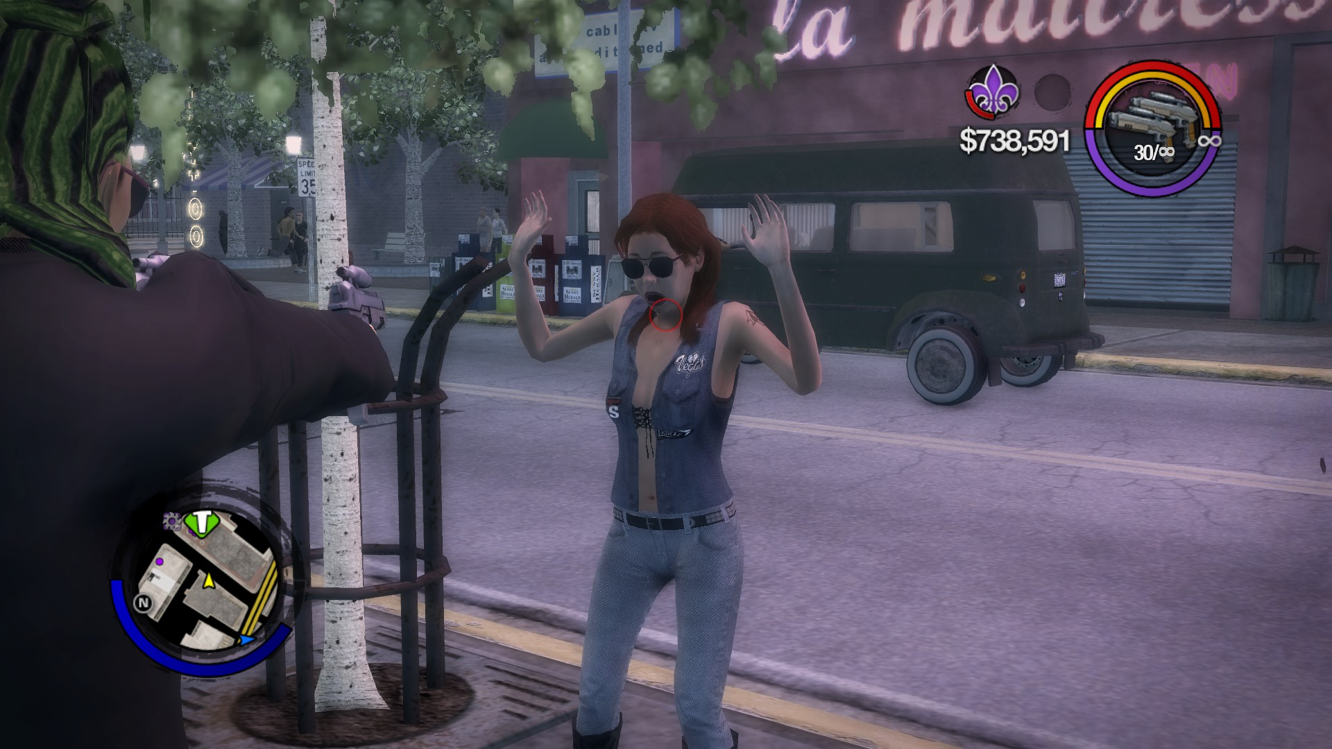 what manual port to use saints row 2