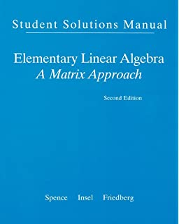 linear algebra and its applications 5th edition solutions manual download