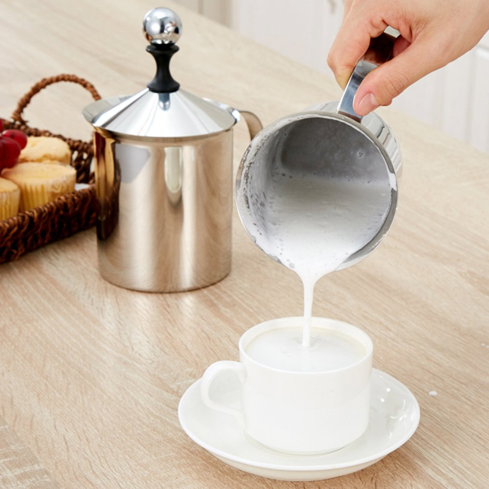 plastic hand manual milk frother
