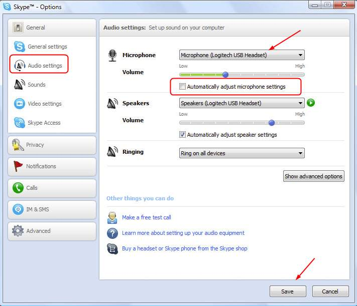 manually configure skype for business online