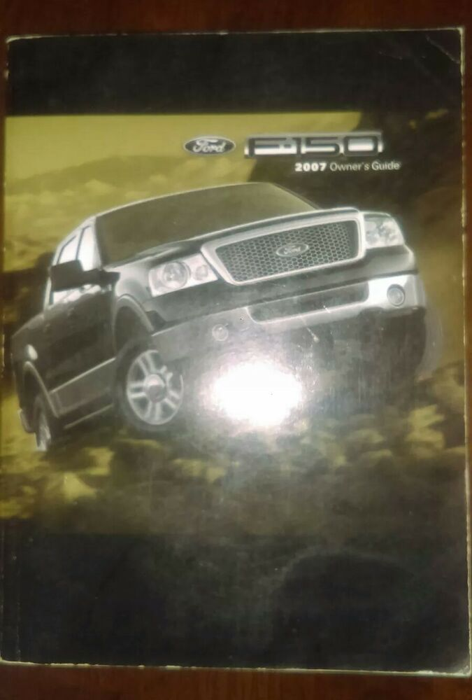 owner manual for 2007 f150